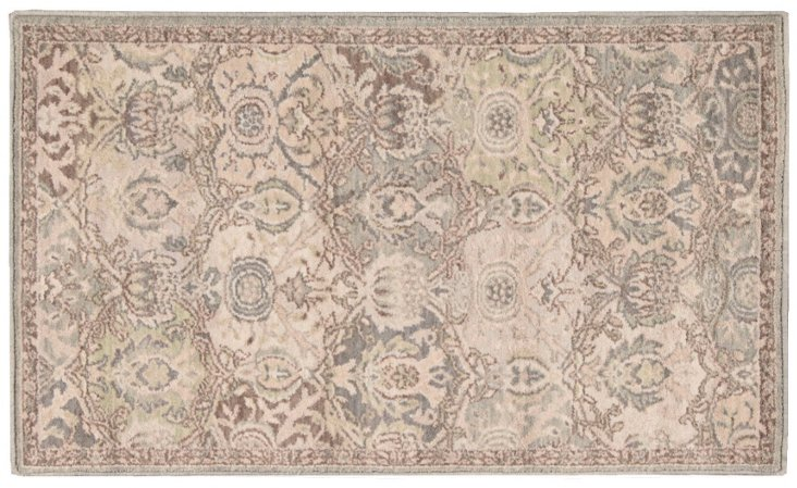 Shafer Rug, Taupe/Mauve