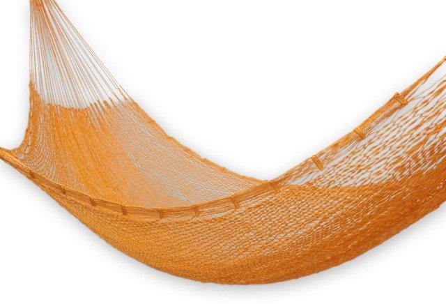 Classic Single Hammock, Orange