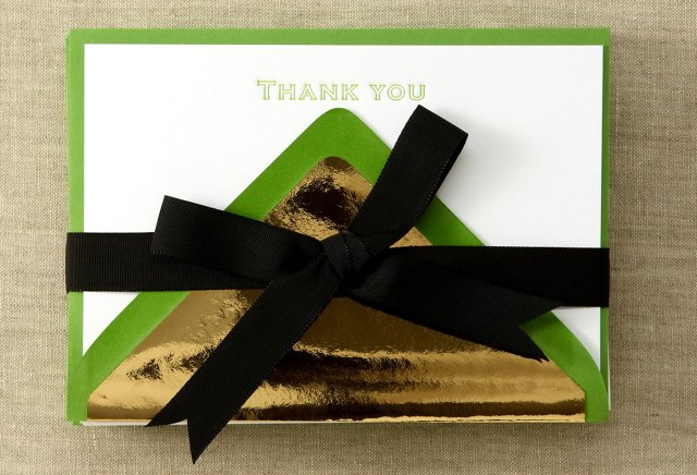 S/24 Thank-You Stationery, Clover