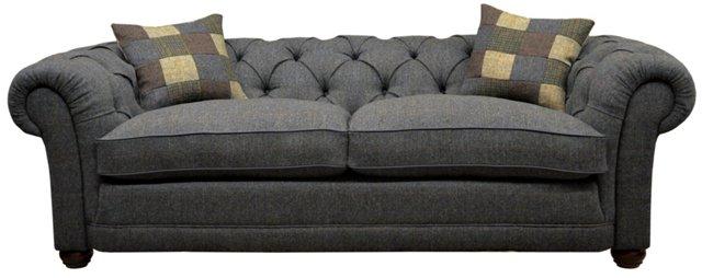 """Castlebay 85"""" Sofa, Granite"""