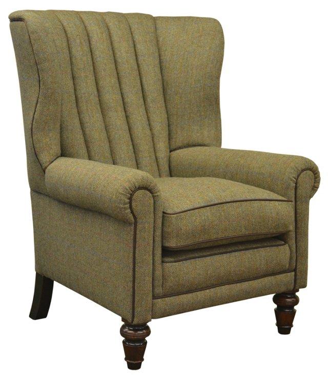 Dunmore Chair, Loden