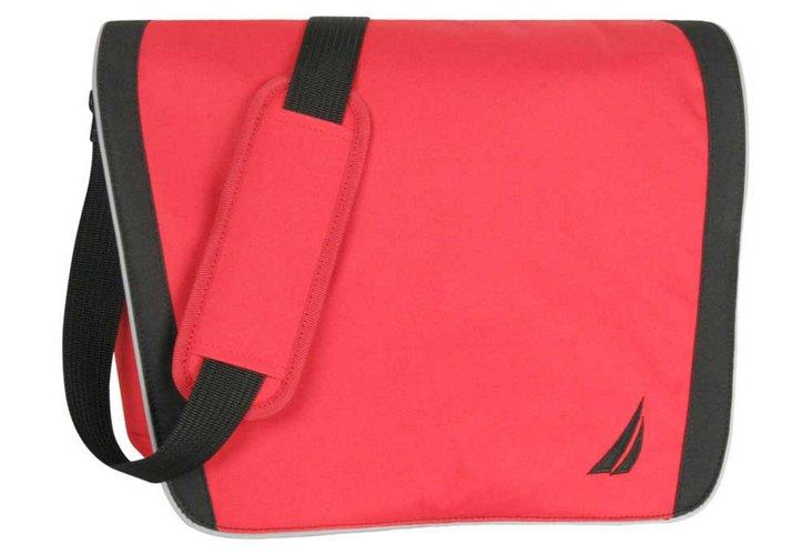 Starboard Messenger Bag, Red/Black