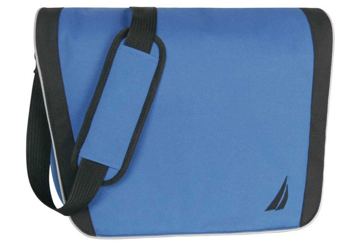 Starboard Messenger Bag, Blue/Black