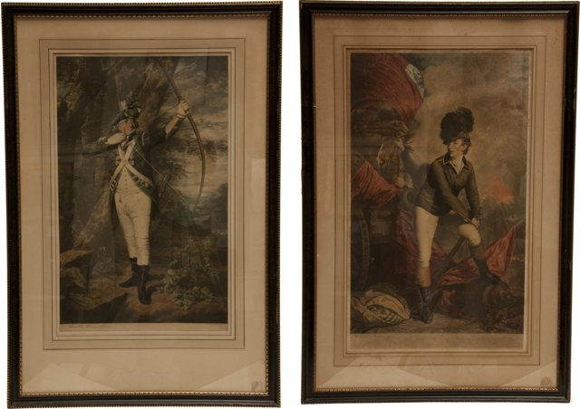 Antique Scottish Engravings, Set of 2