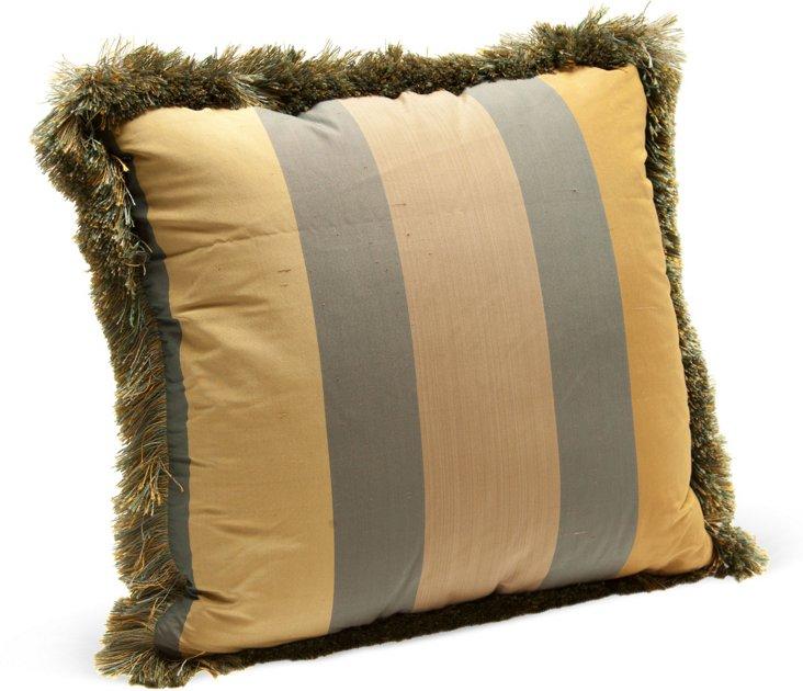 Claremont Silk Stripe Pillow