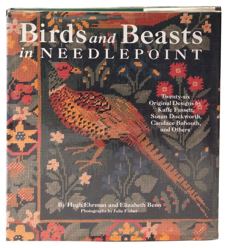 Birds & Beasts in Needlepoint