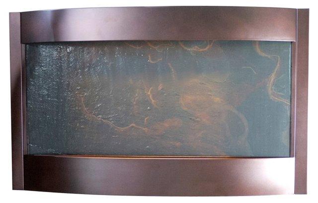 32x52 Indoor Water Fountain, Bronze