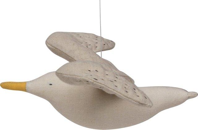 Kamomé Seagull Mobile, Gray Wings