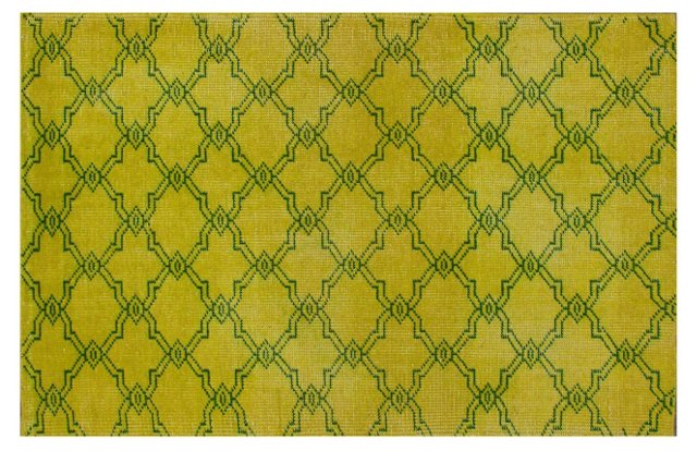 Barcelona Rug, Yellow/Green
