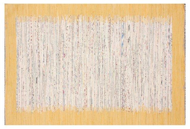 Sky Flat-Weave Rug, Marigold