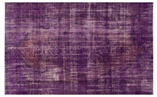 "5'6""x8'5"" Fatin Overdyed Rug, Purple"
