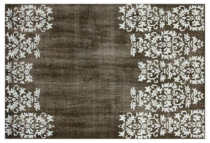Yana Flat-Weave Rug, Brown