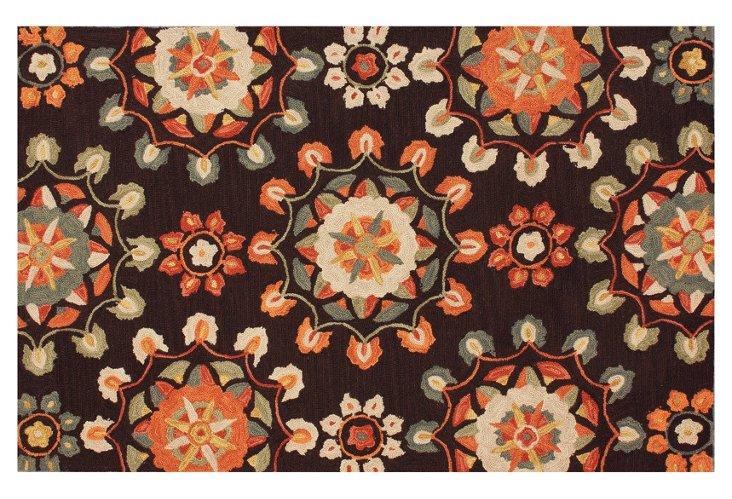 Lalage Rug, Orange/Multi