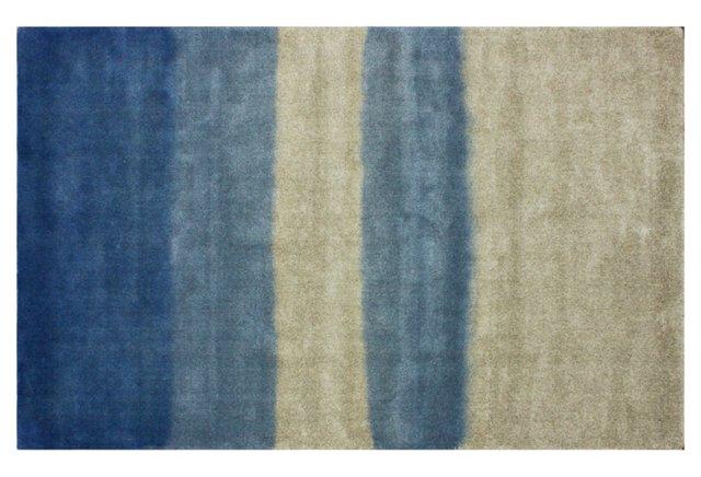 Lucia Rug, Blue/Parchment