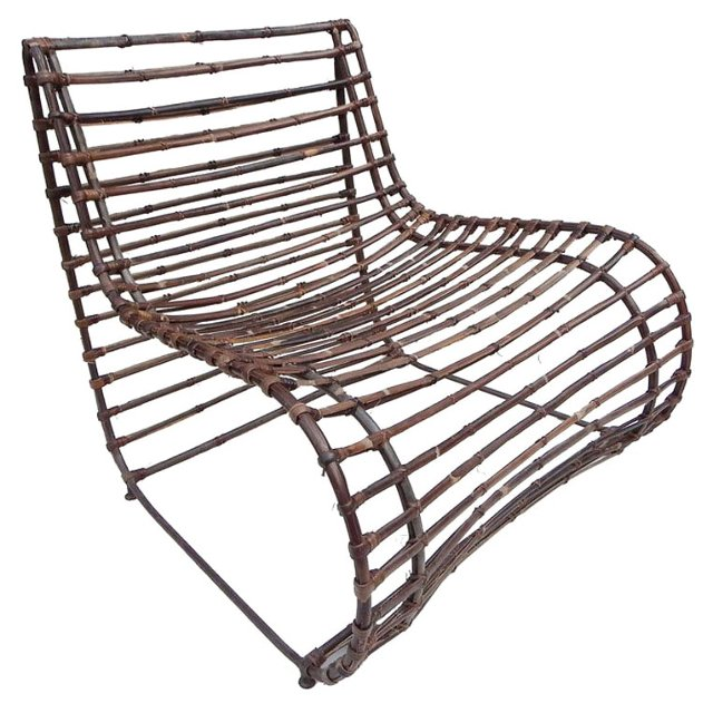 Rhina Accent Chair, Bronze