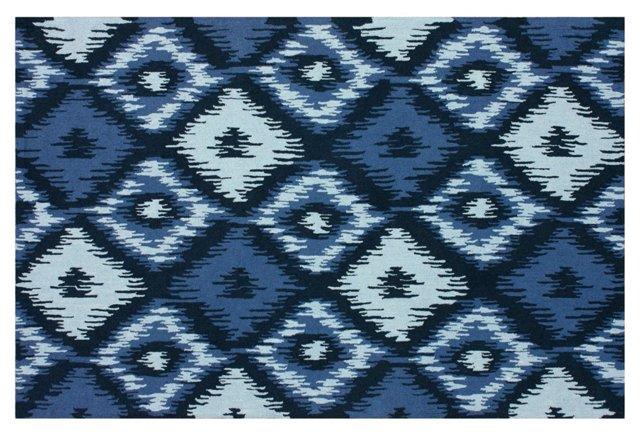 Leah Rug, Blue