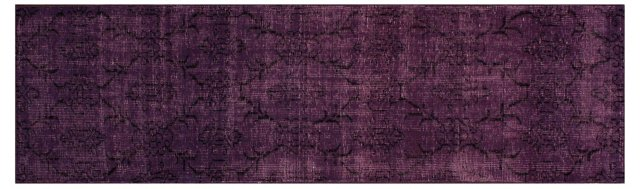 3'x10' Samantha Runner, Plum