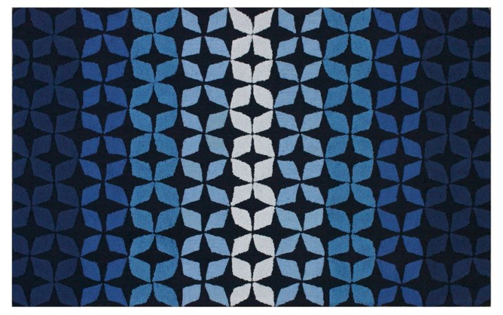 Calloway Rug, Blue/Multi