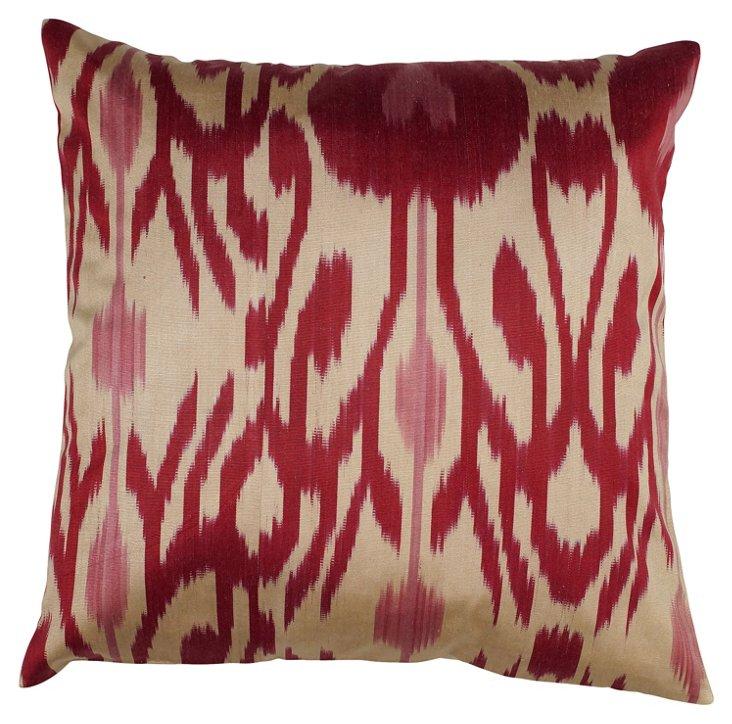 Sara 18x18 Pillow, Magenta