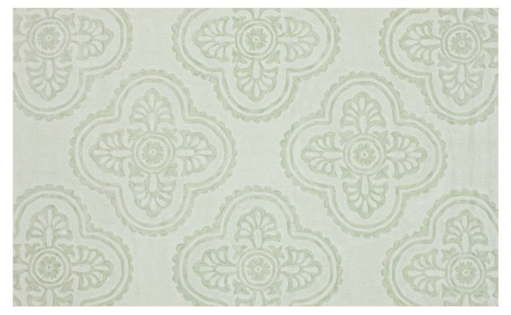 Gemma Rug, Light Celadon