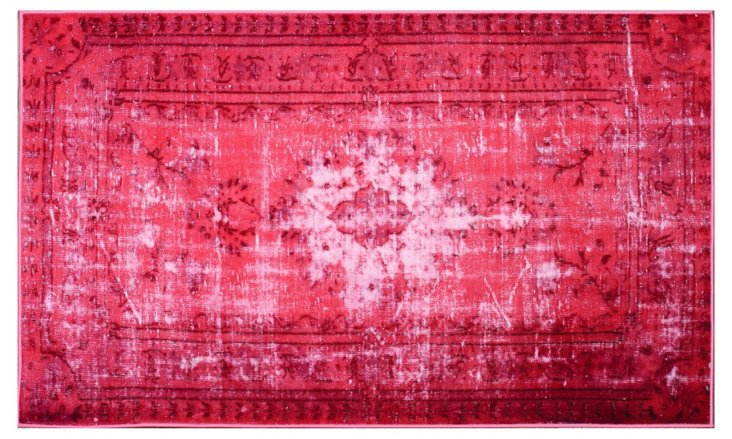 "8'2""x9'11"" Bess Rug, Strawberry"