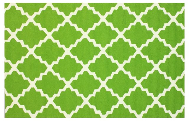 Ryker Outdoor Rug, Green