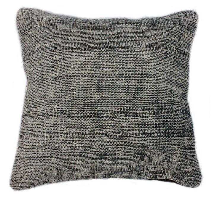 Fog 20x20 Pillow, Gray