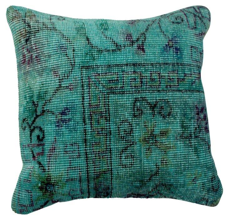 Fuller 20x20 Pillow, Sea Green