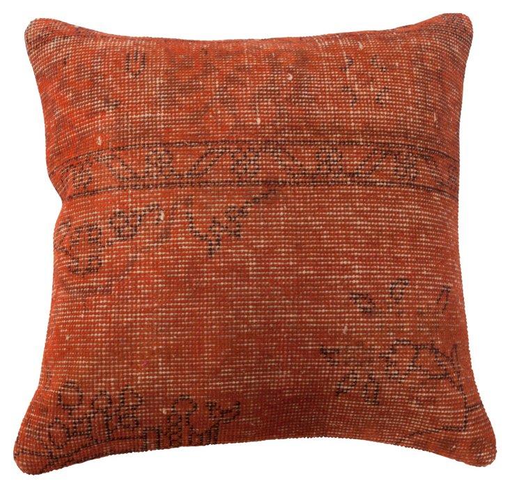 Cazador 20x20 Pillow, Rust