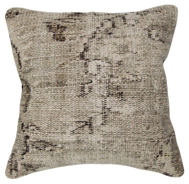Vincente 18x18 Pillow, Gray
