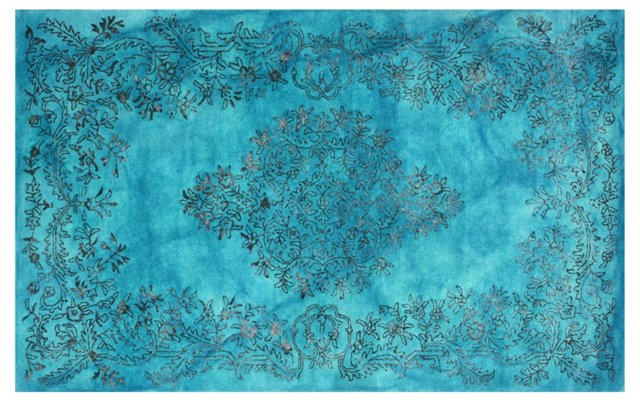 Karvani Rug, Blue