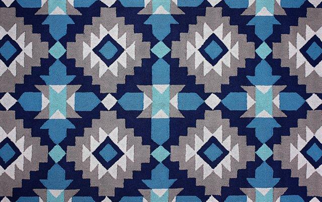 Lachlan Rug, Blue