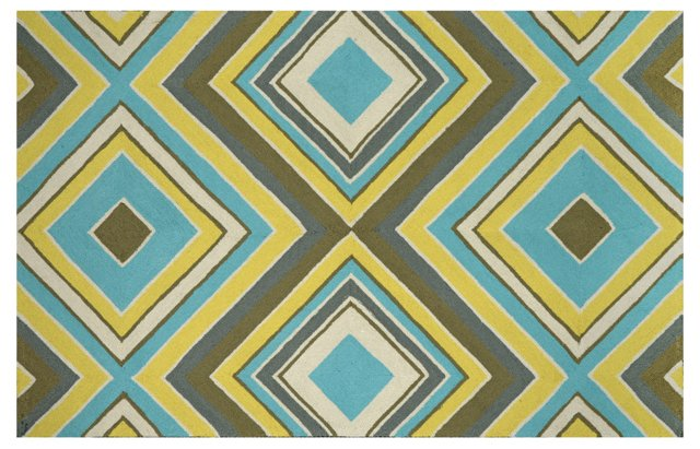 Calvin Outdoor Rug, Multi