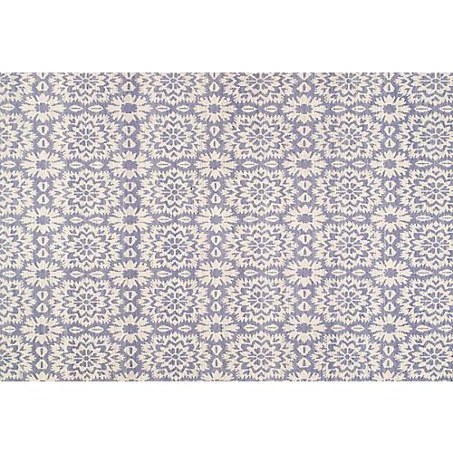 Newton Flat-Weave Rug, Purple