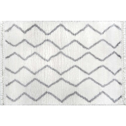 Mannetto Rug, Gray