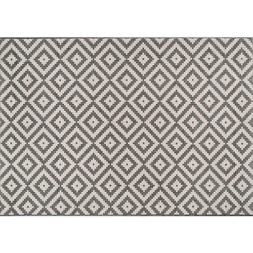 Marybelle Outdoor Rug, Gray