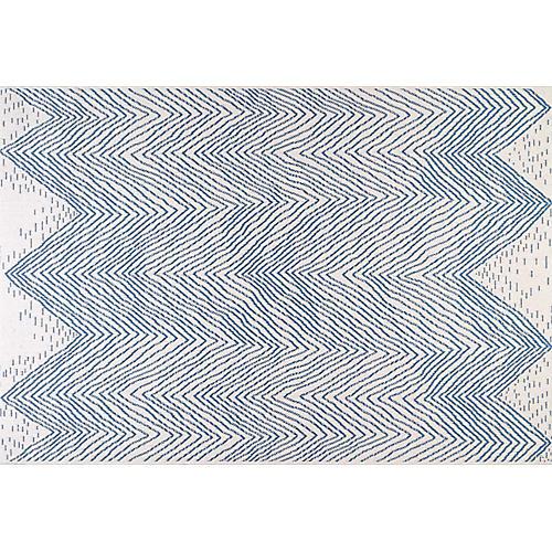 Brixi Outdoor Rug, Blue