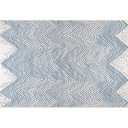 Brixi Outdoor Rug, Blue