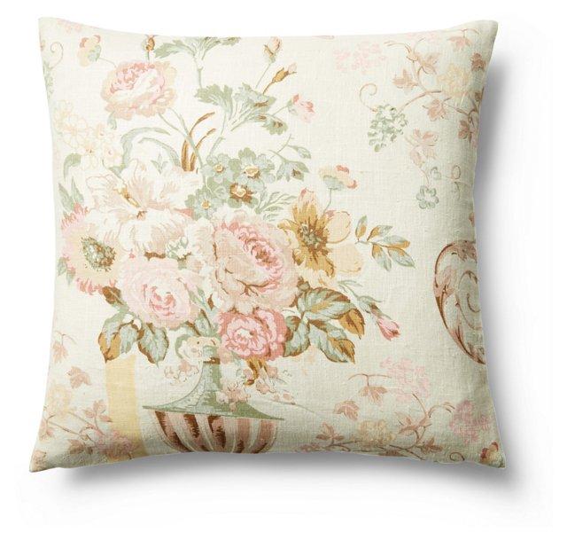 Elize 20x20 Cotton Pillow, Multi