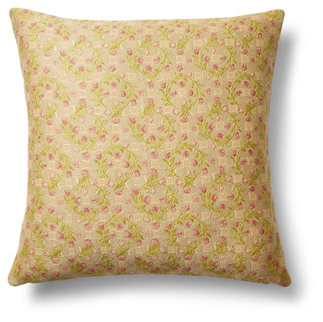 Prette 20x20 Cotton Pillow, Multi