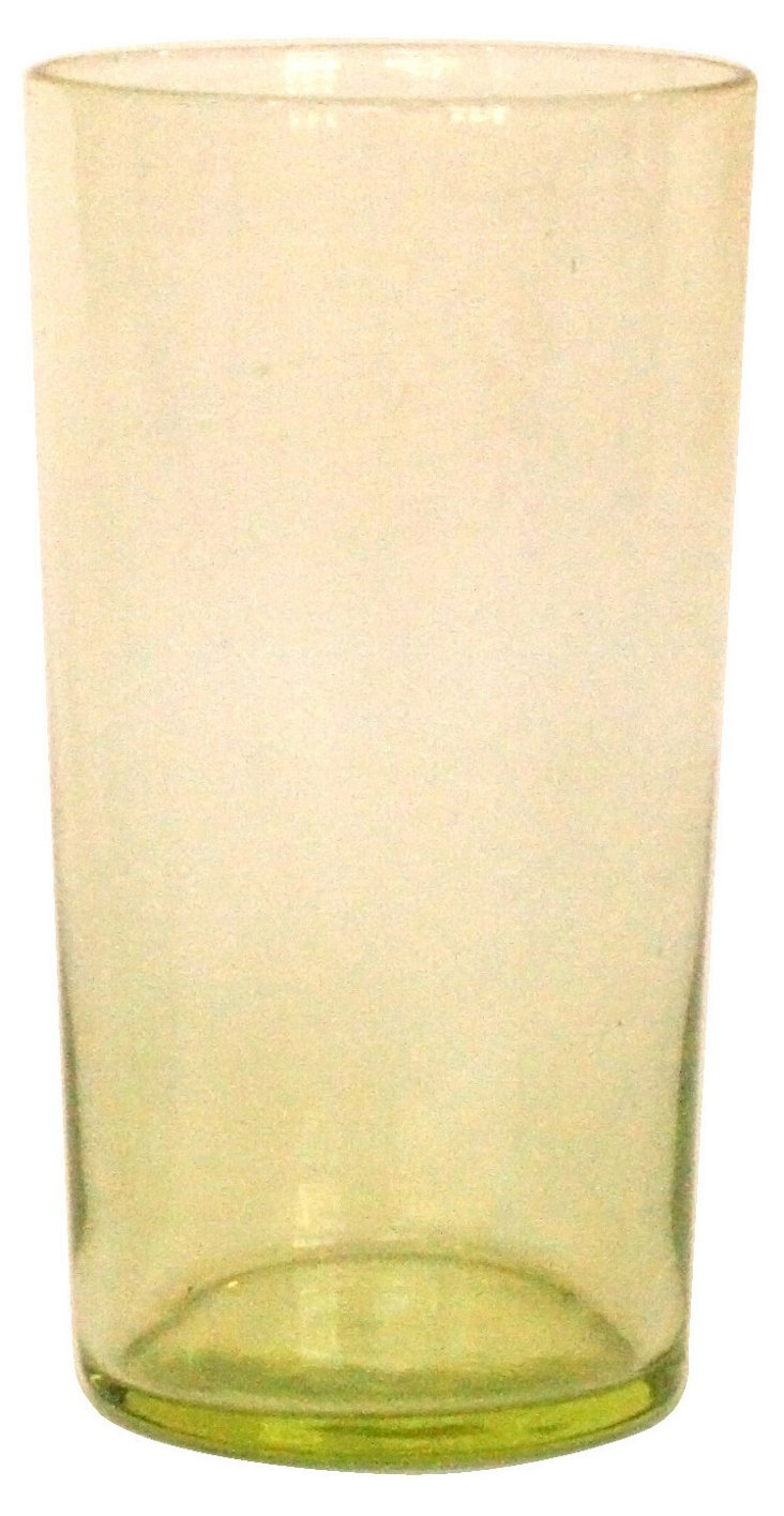 DNU S/6 Tall Lulu Glasses, Yellow