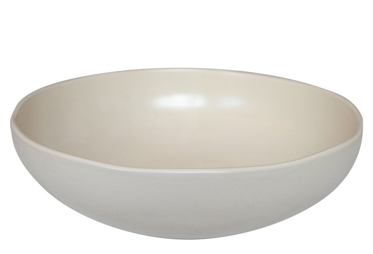 Stour Serving Bowl, Matte White