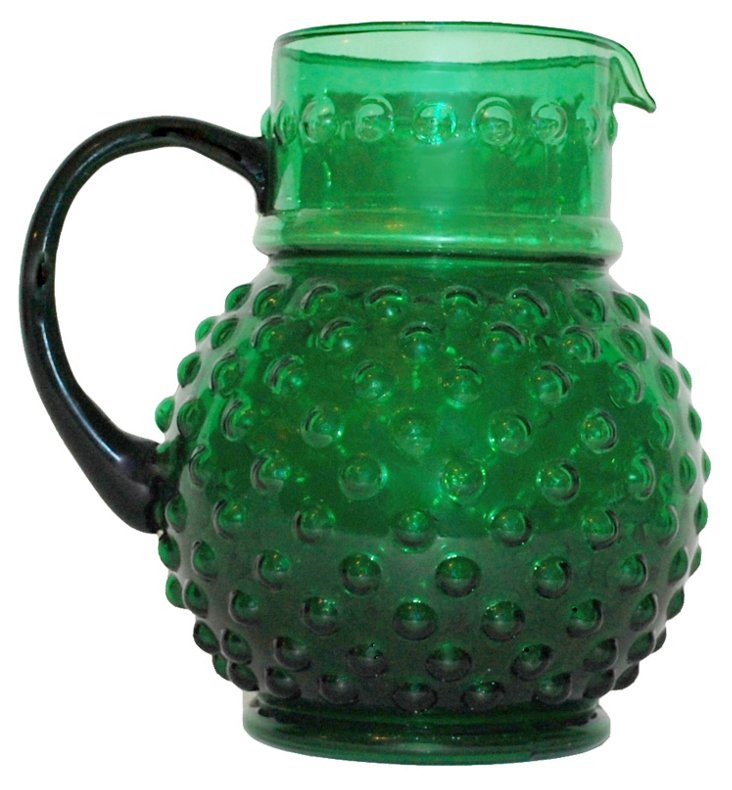 Bauble Pitcher, Green