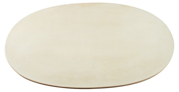 Seagate Serving Platter, White, 18""