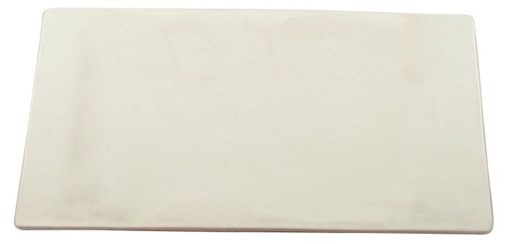 S/2 Seagate Cheese Boards, White