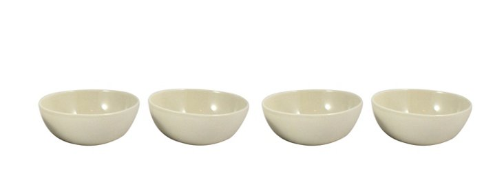 DNU S/4 Shell Bisque Bowls, Neutral