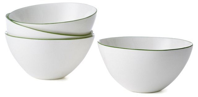 DNU S/4 Abbesses Bowls, Green