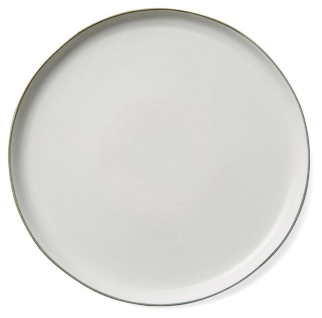 DNU S/4 Abbesses Dinner Plates, Gray