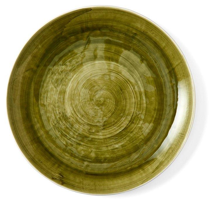 DNU S/4 Seagate Dinner Plates, Green