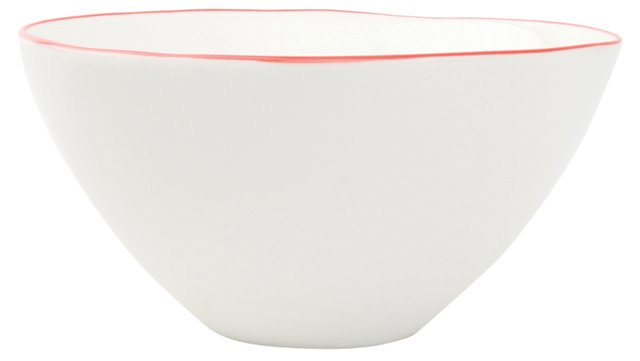 S/4 Abbesses Bowls, Red, 6""